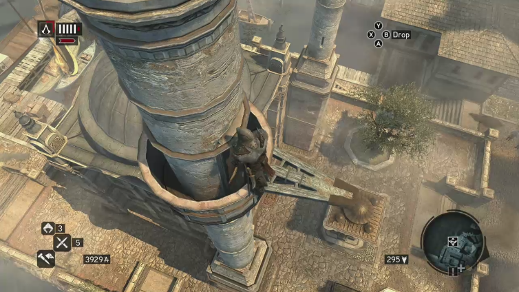 Boots Orion playing Assassin's Creed: Revelations