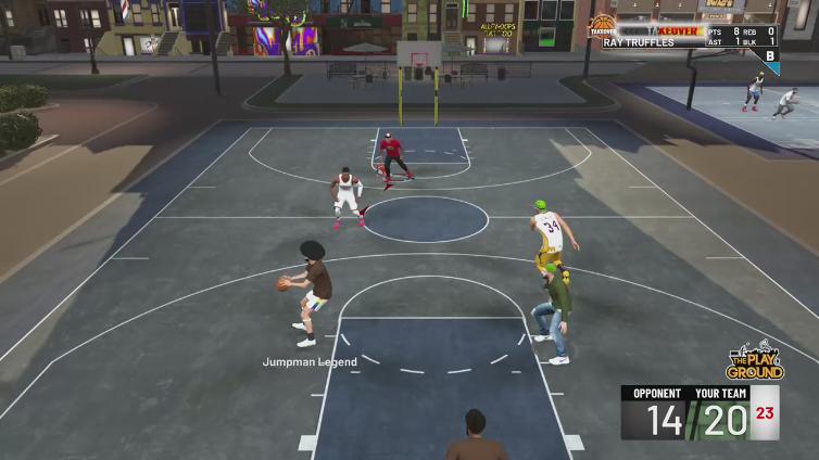 rayxcool playing NBA 2K19